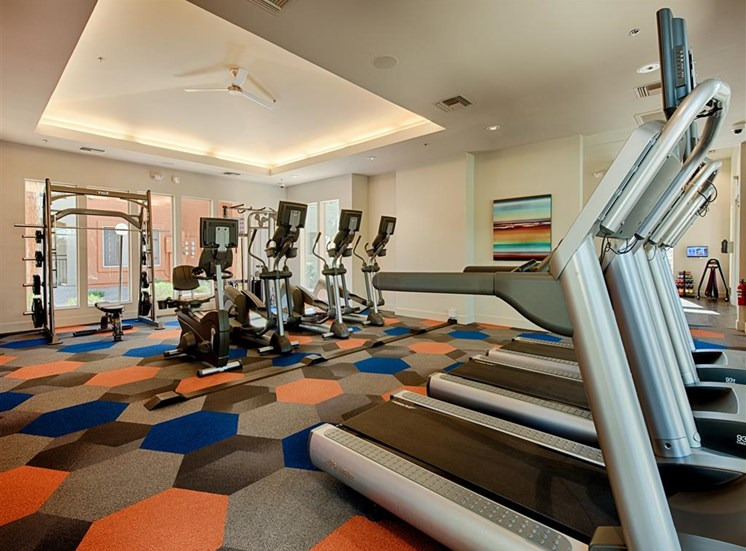 Fitness Center With Cardio Equipment at Aventura, Avondale,Arizona