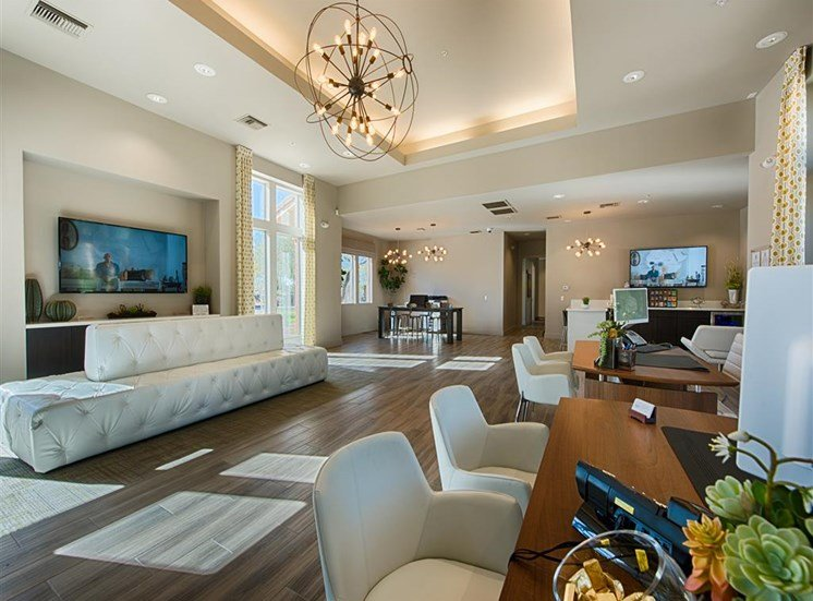 Community Lounge With Newly Upgraded Interiors at Aventura, Avondale,Arizona