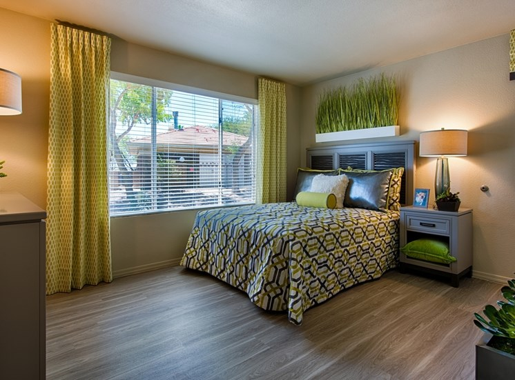 Bedrooms With Beautiful Window Coverings at Aventura, Arizona, 85392