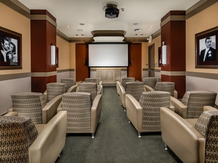 Theater at Trio Apartments in Pasadena, CA