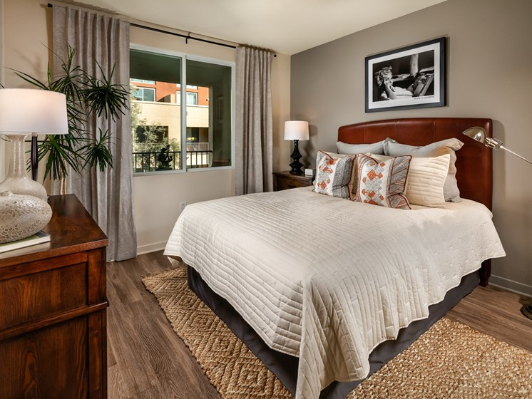 Apartments with Modern Bedroom in Pasadena, CA- Trio Apartments