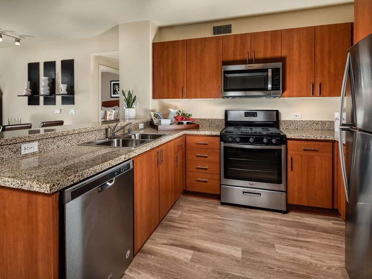 Pasadena Apartments with Modern Kitchen- Trio Apartments