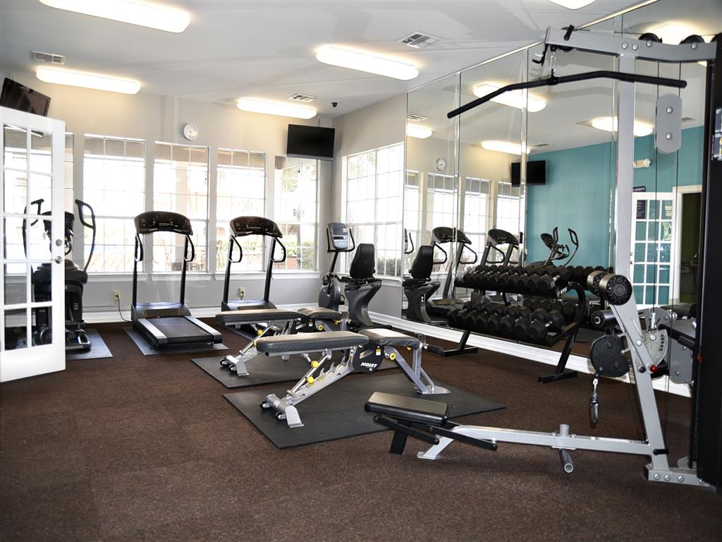 24 Hour Fitness Center at Club at Stablechase, Houston, TX 77070