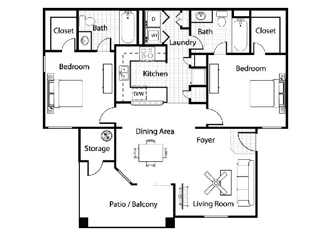 Campania Floor Plan 3