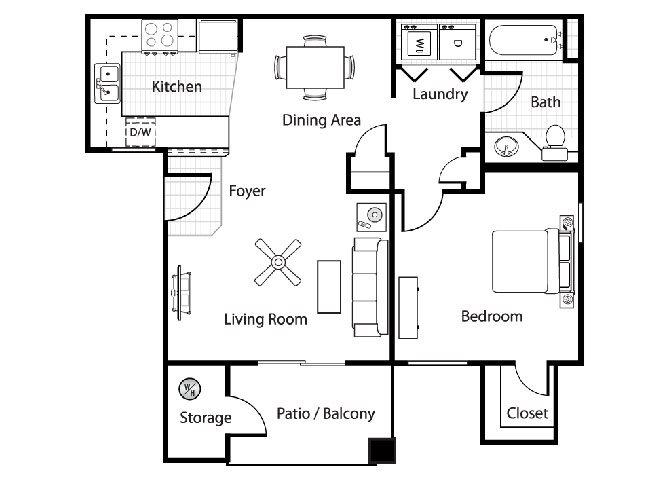 Molise Floor Plan 1