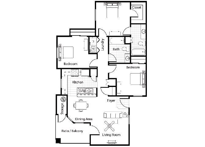 Toscana Floor Plan 4