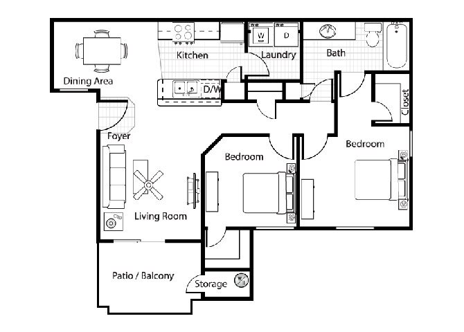 Veneto Floor Plan 2
