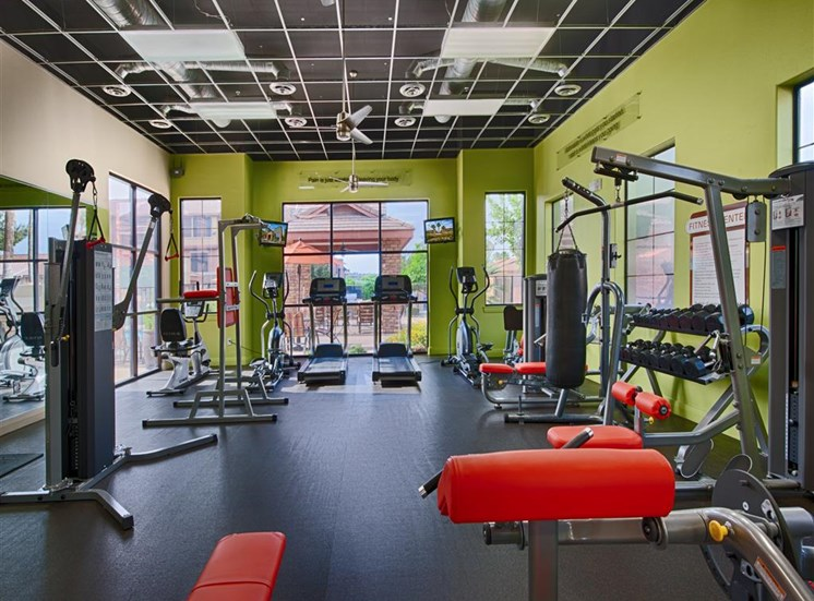 On-site Gym at Residences at Forty Two 25 Apartments for rent in Phoenix, AZ