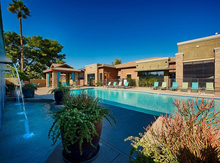 Heated Pool with Cabanas at Residences at FortyTwo25, Arizona, 85008