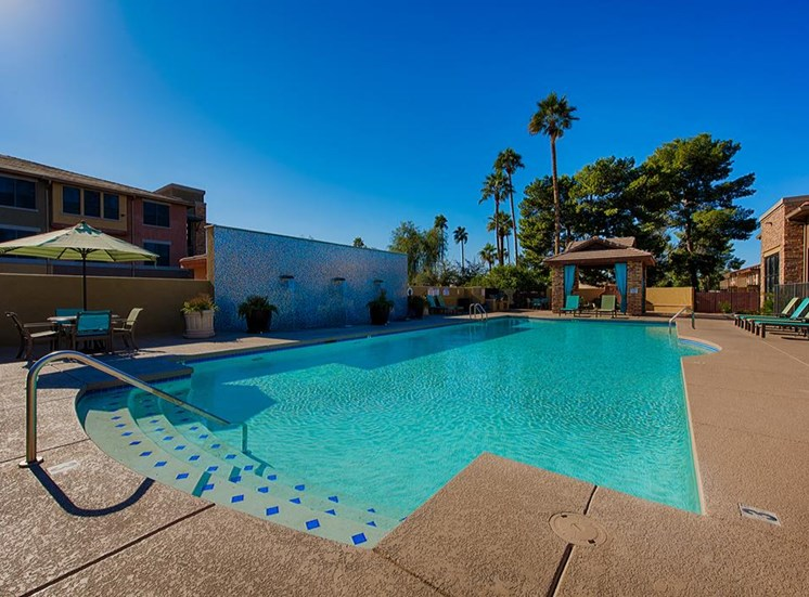 Sparkling Swimming Pool at Residences at FortyTwo25, Phoenix, AZ 85008