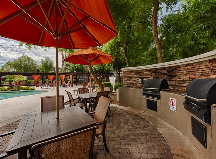Stonebridge Ranch Apartment Homes for Rent in Chandler, AZ - BBQ