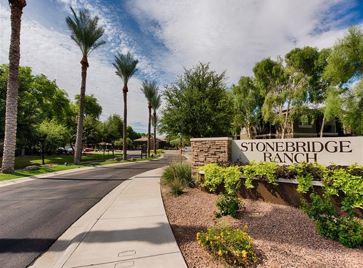 Stonebridge Ranch Apartment Homes for Rent in Chandler, AZ - Entrance