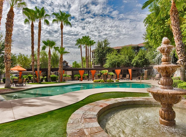 Stonebridge Ranch Apartment Homes for Rent in Chandler, AZ - Sparkling Swimming Pool