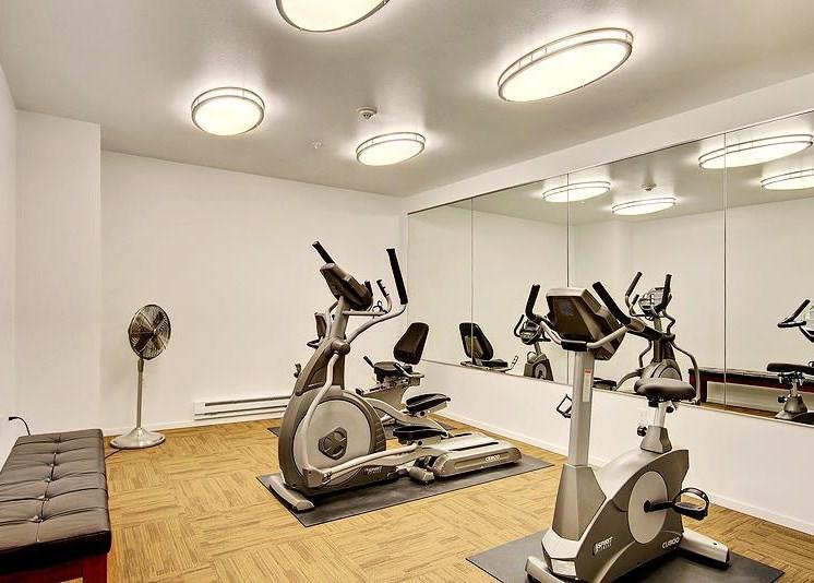 High-Tech Fitness Center at Redmond Square, Redmond, 98052