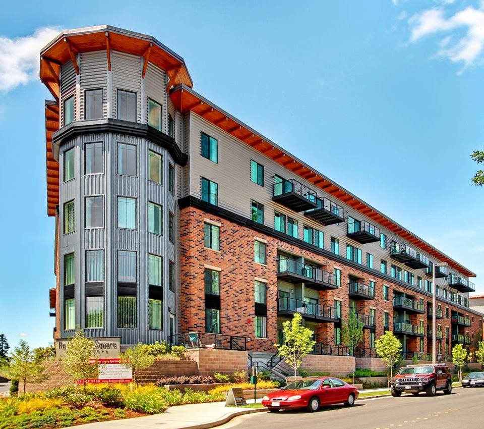 Beautiful Architecture at Redmond Square, Redmond, WA