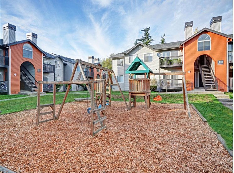 Playground at Beacon at Center Apartments in Everett WA