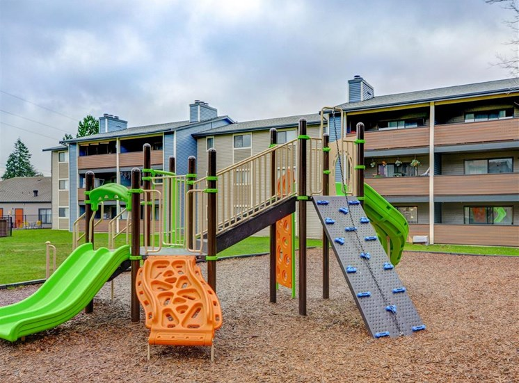Playground at Grammercy Apartment Homes in Renton WA