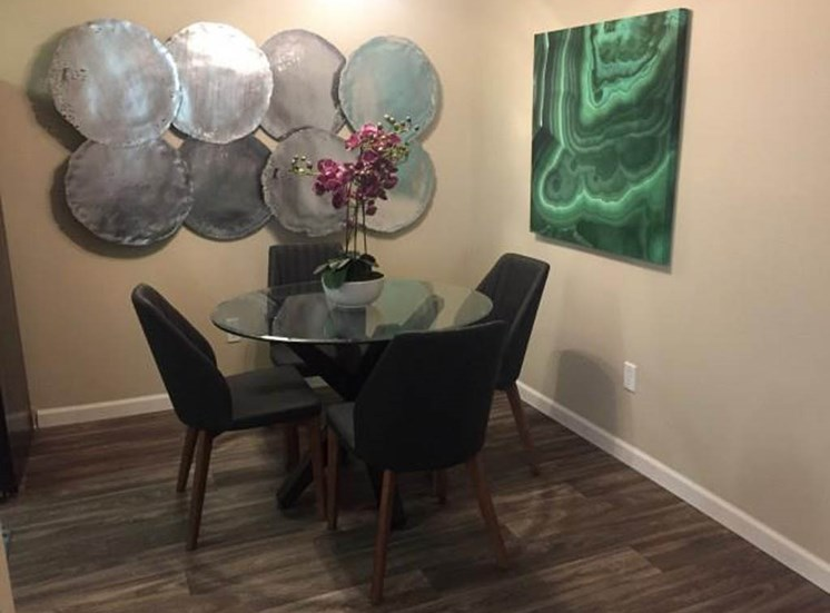 Dining room at The Retreat at Maple Hill Apartments in Federal Way WA