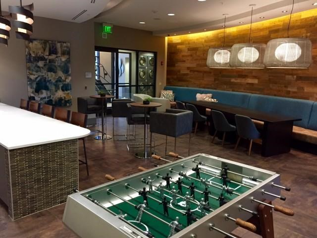 Resident lounge at The Reserve Apartments in Renton, Wa