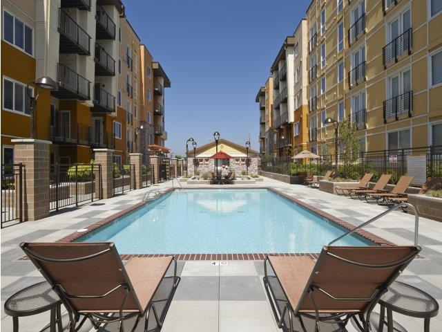 Swimming Pool At The Reserve Apartments In Renton WA