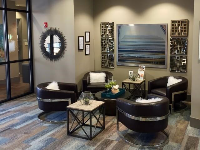 Leasing Office waiting area at The Reserve Apartments in Renton WA