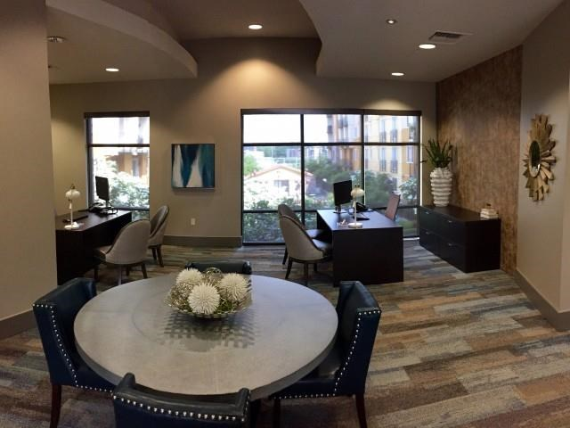 Leasing office at Reserve Apartments in Renton WA