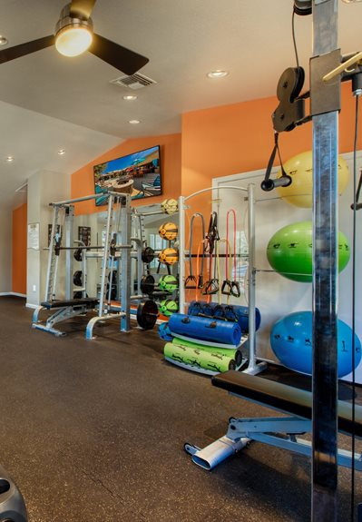 Allure at Tempe gym in apartments