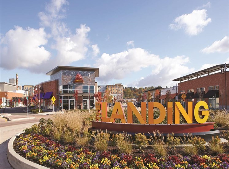 Residents enjoy all the perks of living at The Landing at Sanctuary Apartments in Renton, WA