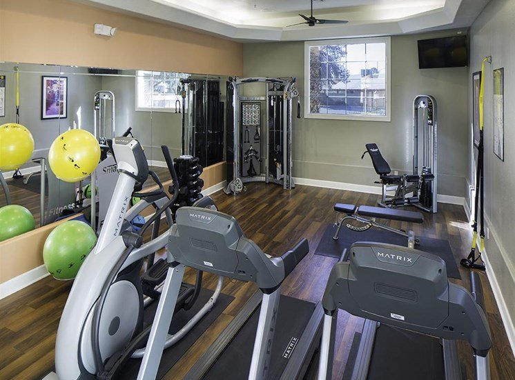 Fitness center at Cambria Apartments in Gilbert AZ