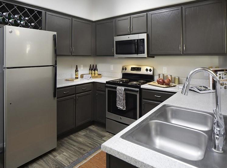 Kitchen at Cambria Apartments in Gilbert AZ