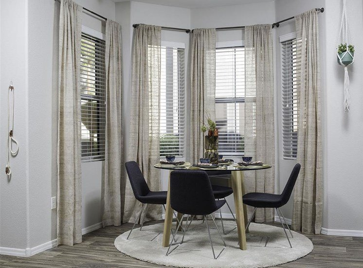 Dining area at Cambria Apartments in Gilbert AZ