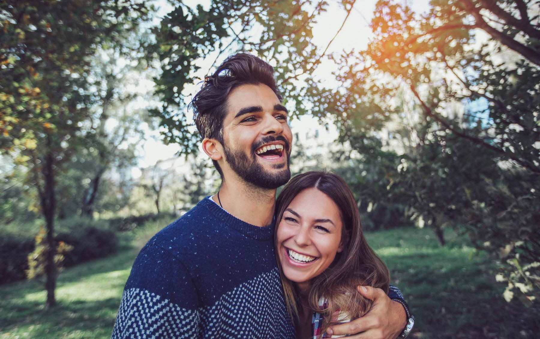Stock Image of Happy Couple