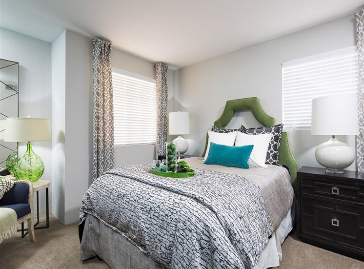 Master bedroom at Array South Mountain Apartments in Phoenix AZ