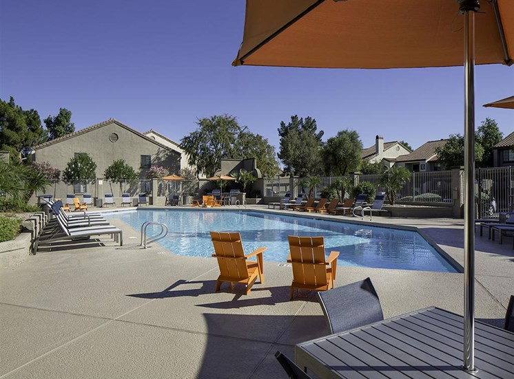 Pool at Lore South Mountain Apartments in Phoenix AZ