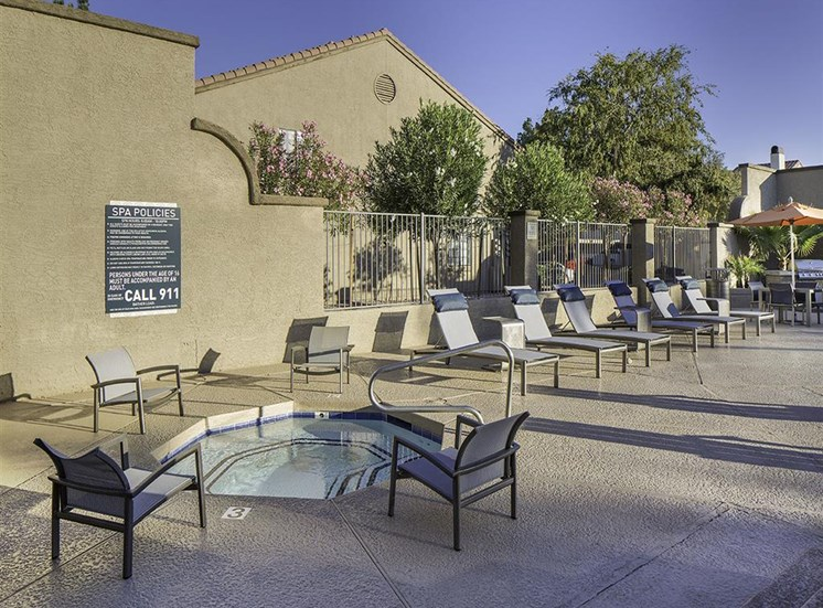 Spa at Lore South Mountain Apartments in Phoenix AZ