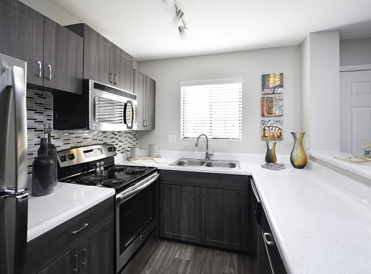 Kitchen at Lore South Mountain Apartments in Phoenix AZ