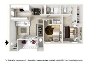 B1 floor plan.