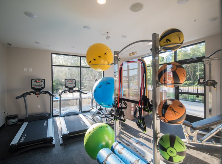 Fitness Center at CORE Apartments Ames IA