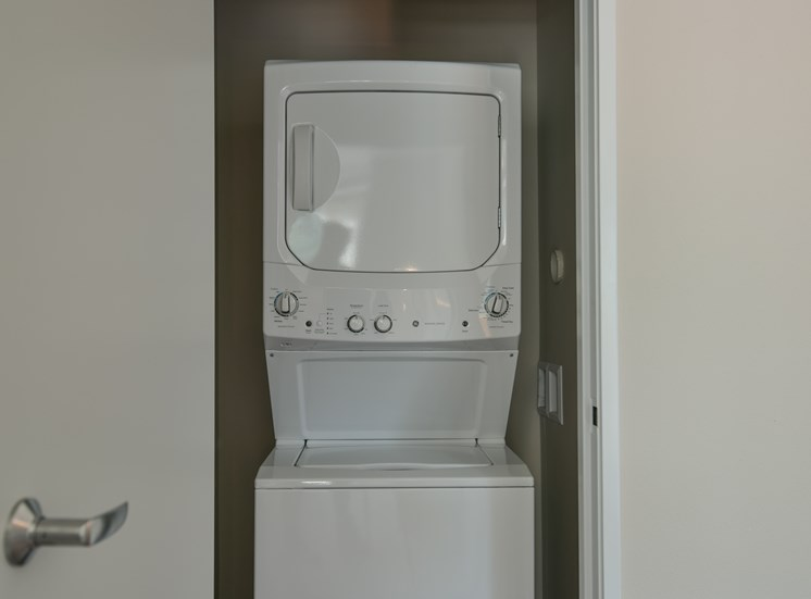 In-Home Washer and Dryer at CORE Apartments Ames IA
