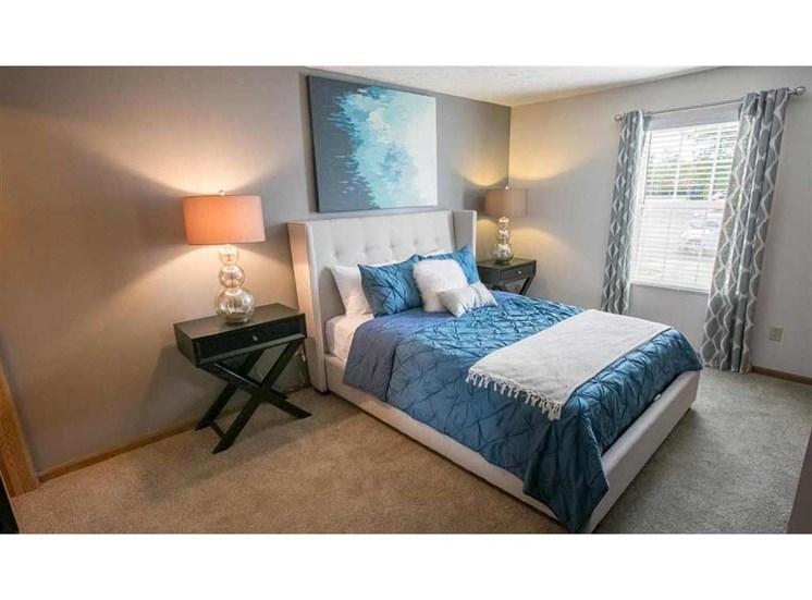 Bedroom at Perimeter Lakes in Dublin Ohio