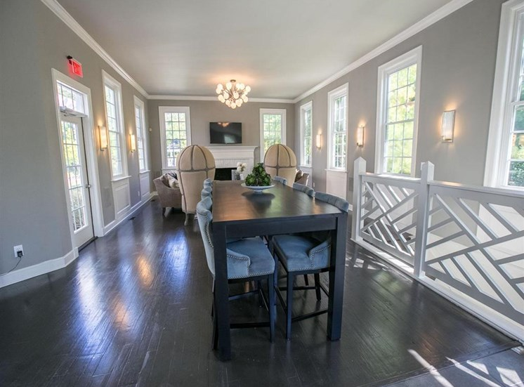 Renovated clubhouse at Residence at Christopher Wren in Gahanna OH