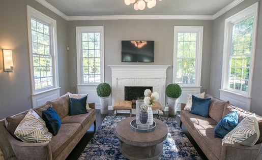 Clubroom available at Residence at Christopher Wren in Gahanna OH