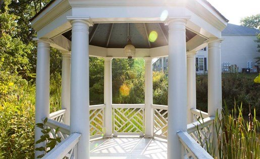 Gazebo at The Residence at Christopher Wren Apartments in Gahanna OH