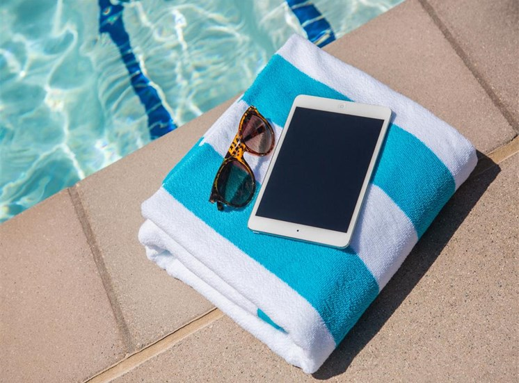 Relax and unwind with poolside WiFi at The Residence at Christoper Wren in Gahanna Ohio