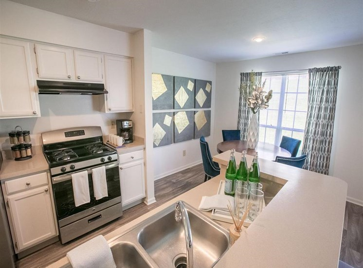 Over-the-stove hood at Residence at Christopher Wren in Gahanna, OH