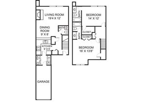 B2TH floor plan.