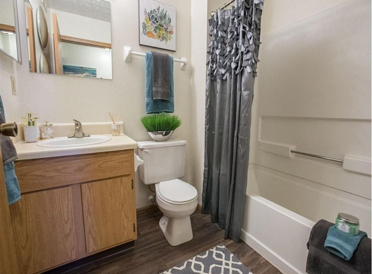 athroom at Sterling Park Apartments in Grove City, Ohio