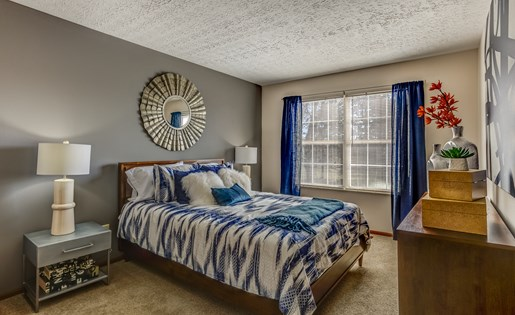 Bedroom 1 at Heathermoor in Columbus OH