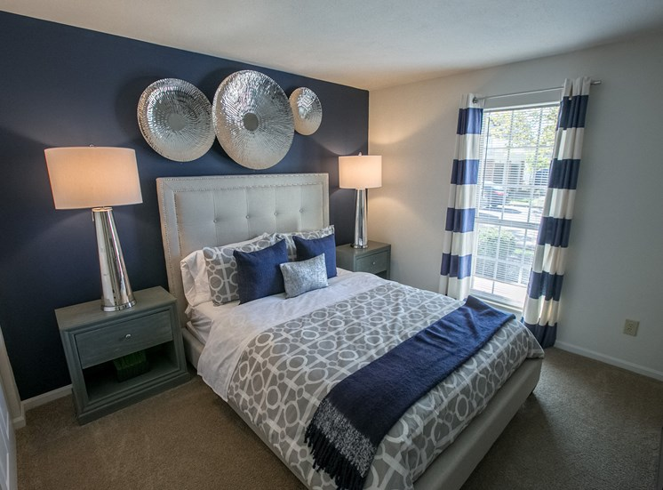 Bedroom at Kensington Grove Apartments in Westerville OH