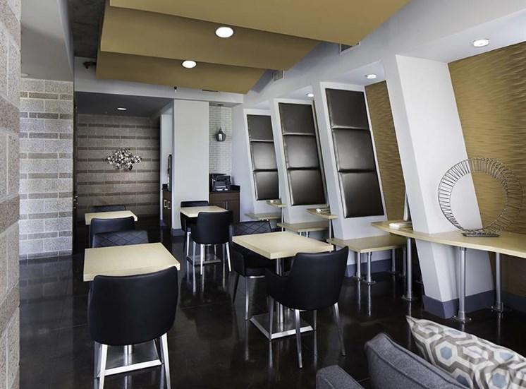 Business center- Talavera Apartments in Denver, CO